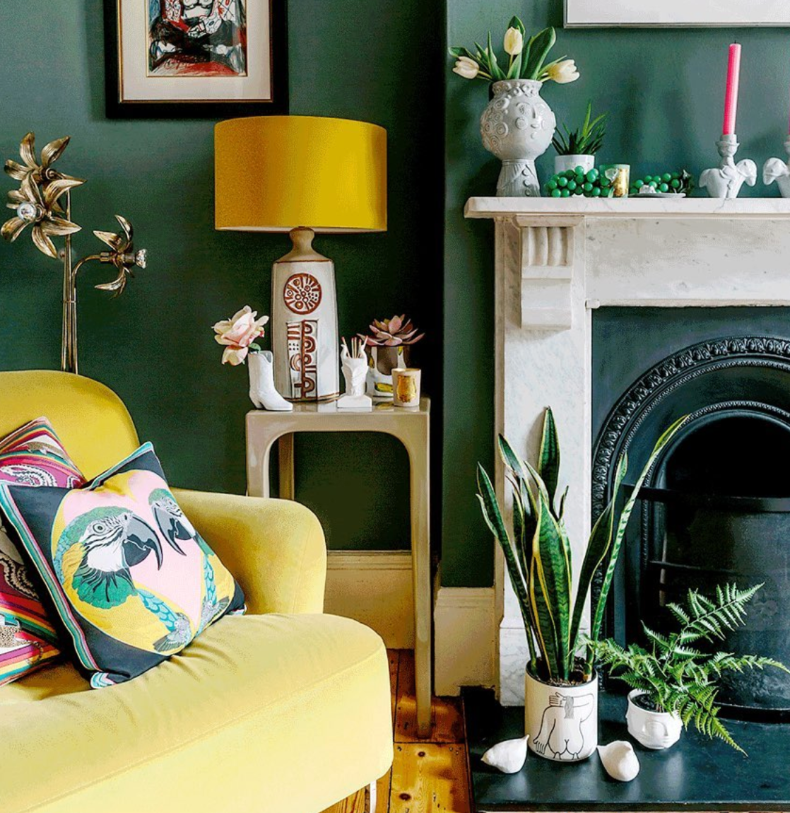 Quirky interiors by Zoe Anderson wagreen.co.uk